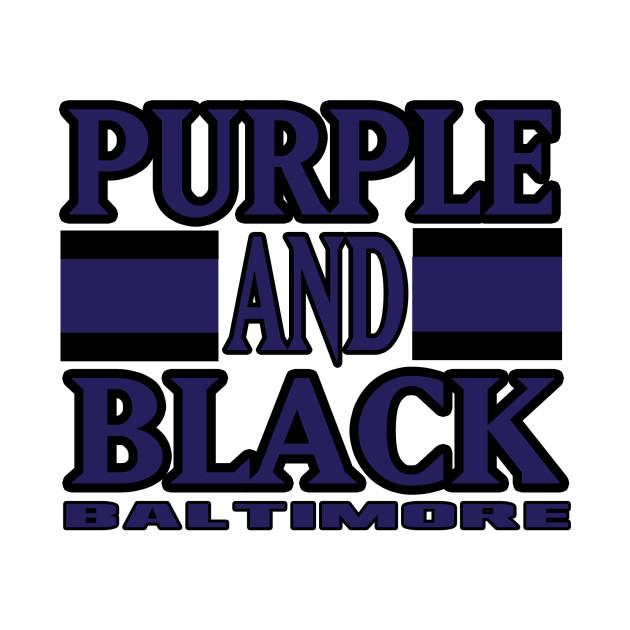 Baltimore LYFE Purple and Black Football Colors!