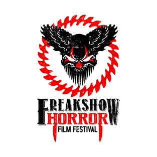 Official Freak Show Horror Logo - Red & Black