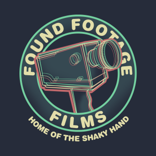 Found Footage Films t-shirts