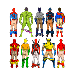 Super Hero Butts