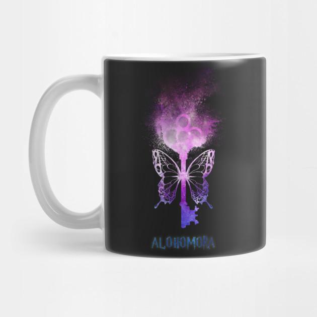 Harry Potter - Alohomora - magic flying key (galaxy sand explosion) - Spell  - Potterhead by vane22april