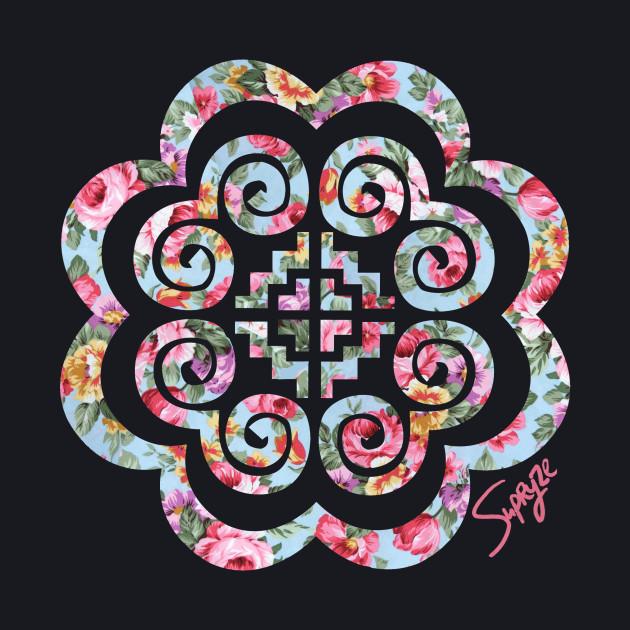 Hmong Floral Tee