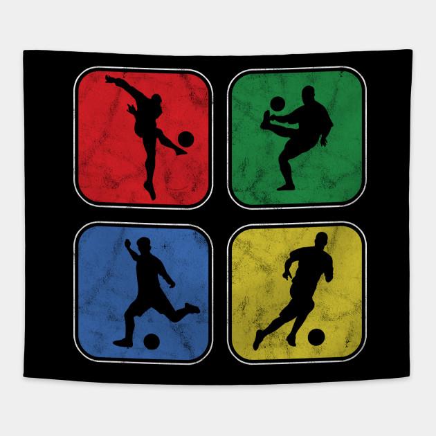 Football Players Goalie Rugby Team Sports Soccer Retro Vintage Goalie