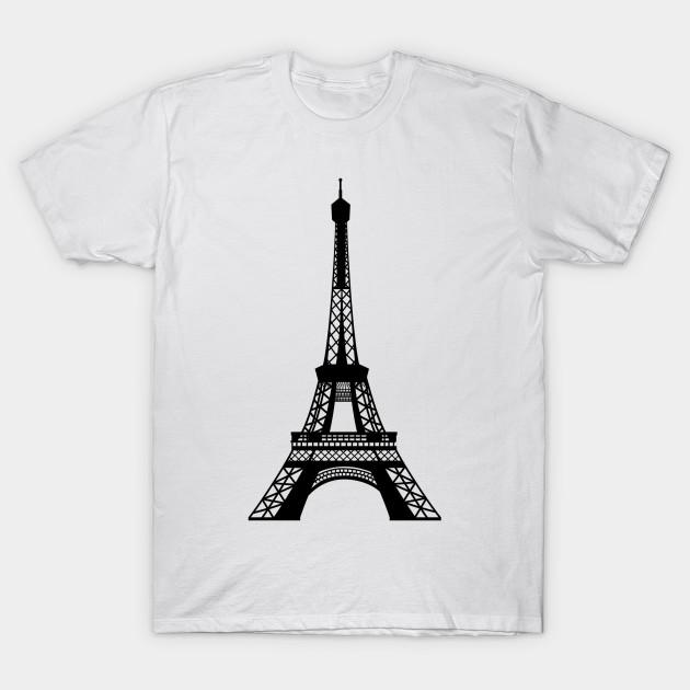 7134bf0ac Eiffel Tower - Eiffel Tower - T-Shirt   TeePublic