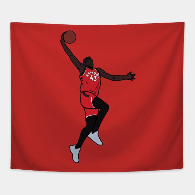 36bb1b7e0323 Pascal Siakam Dunk - Toronto Raptors - Nba - Tapestry