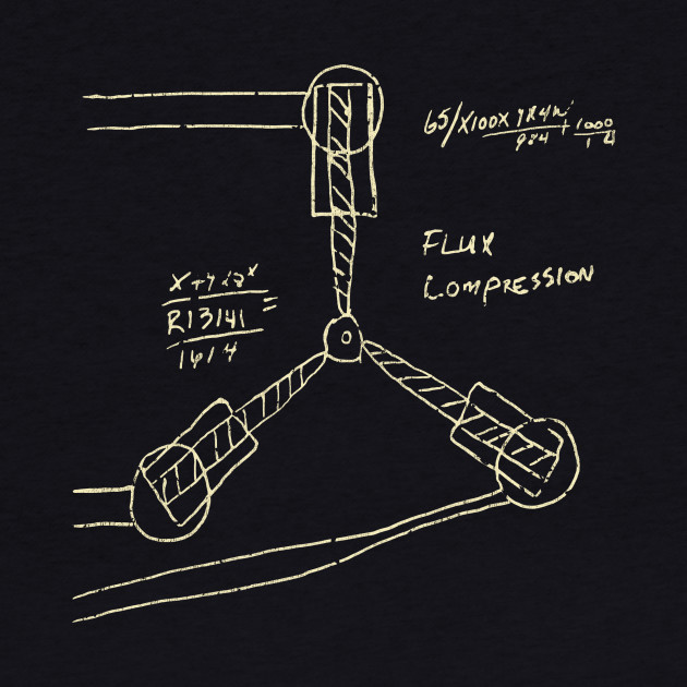 Flux Capacitor Drawing - Light