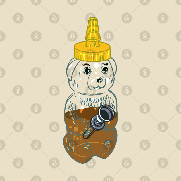 Honey Bear Bong