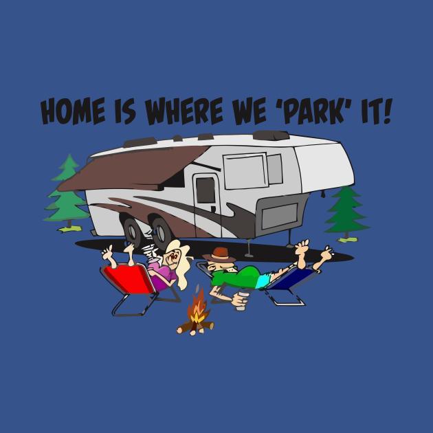 Funny Camper Camping