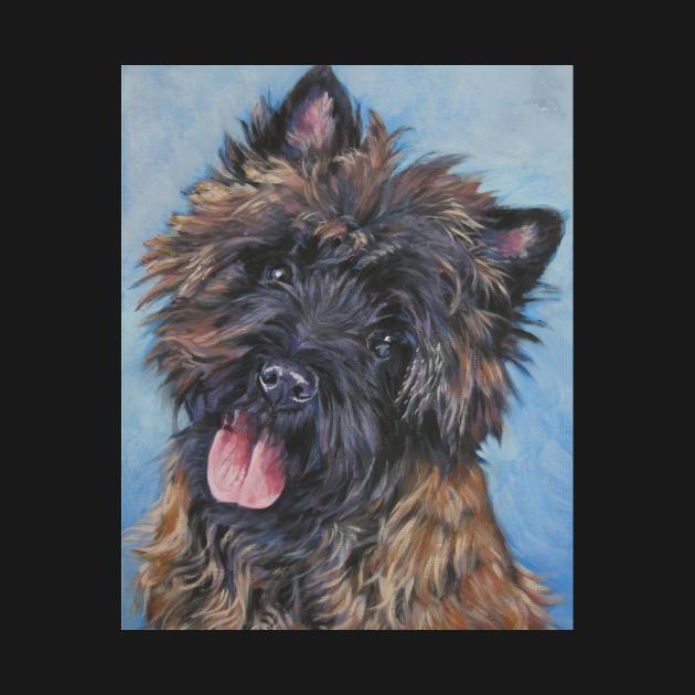 Cairn Terrier Fine Art Painting