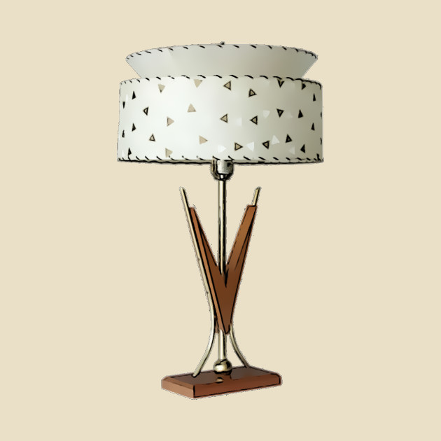 Vintage furniture lamp