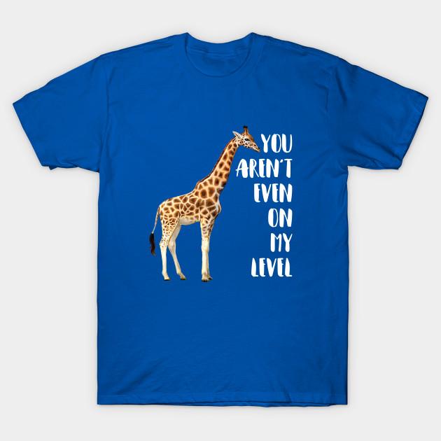 38a6a133 Cool Drawing Print Giraffe - Giraffe - T-Shirt | TeePublic