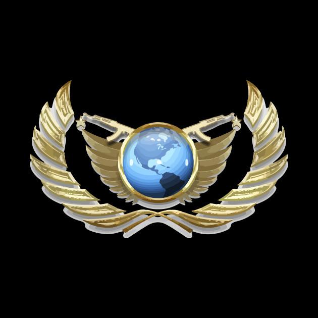 CS:GO global elit (VECTOR)