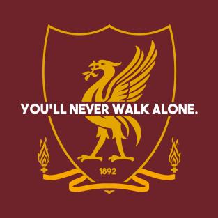 d6a9a45fe8c You ll Never Walk Alone T-Shirt