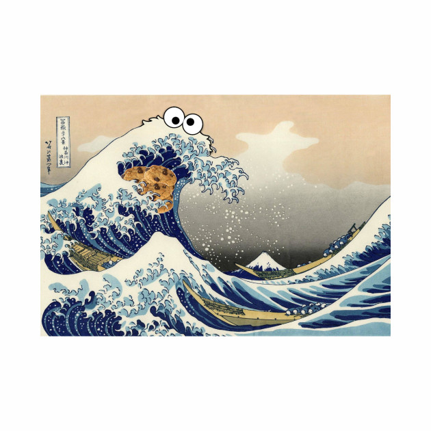 Cookie Monster Wave