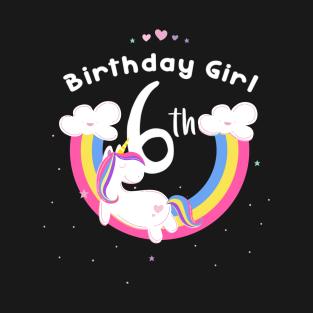 Unicorn 6th Birthday Girls To