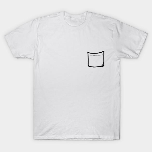 4f61c261 Pocket Tee - Fake Pocket - Pocket Designs - T-Shirt | TeePublic