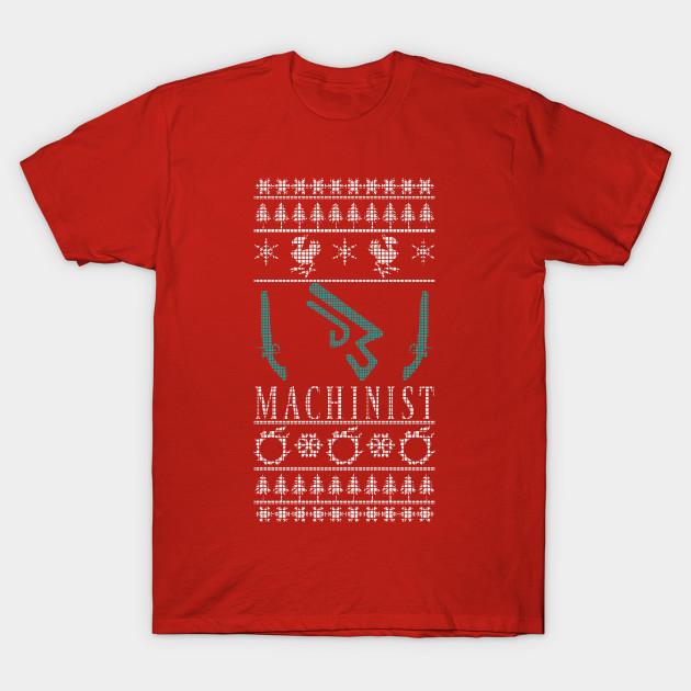 Final Fantasy Christmas.Final Fantasy Xiv Machinist Ugly Christmas Sweater