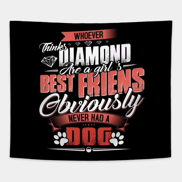 Dog Lover Gifts For Women T Shirt Birthday Gift Girl Tee Tapestry