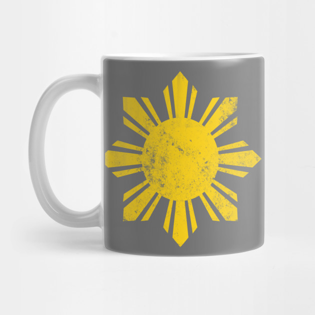 fb7193434d Gold Flag Philippines Sun by banwa