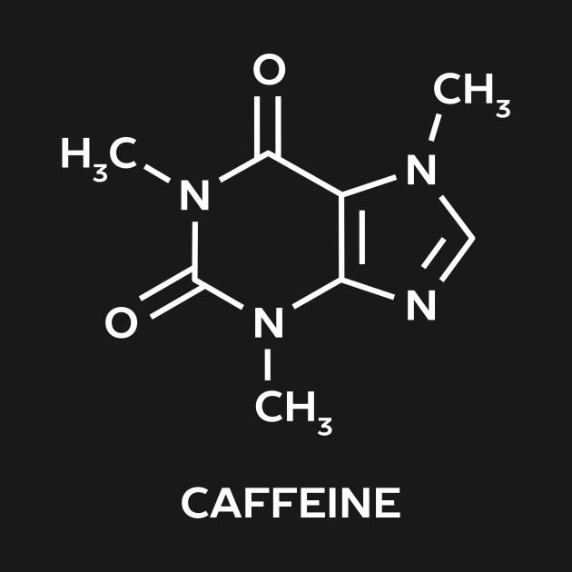 Caffeine Molecule Science T-Shirt