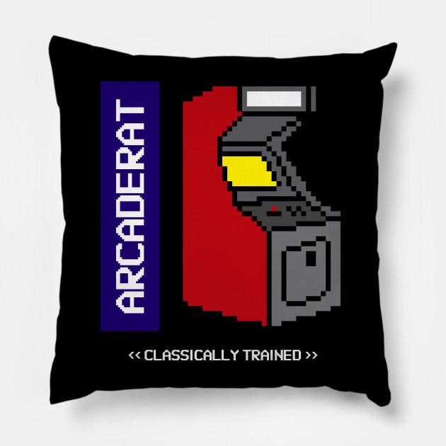 Arcade Rat Classically Trained Pixel Art