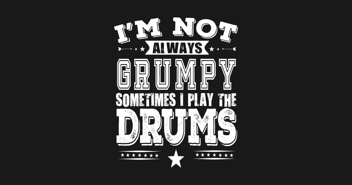 4fe118b1 Drummer T-shirt - Gift For Drum Players - Funny Drummer Tee T-Shirt