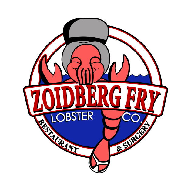 Zoidberg Fry Lobster Co T-Shirt