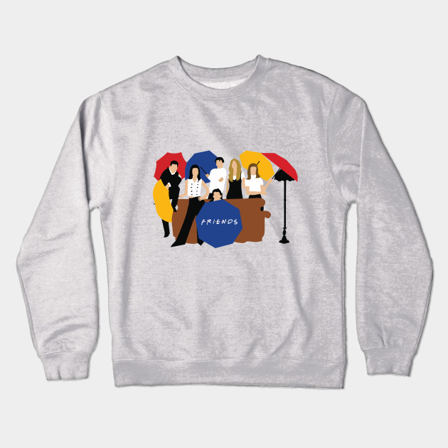 71514085 Friends Umbrella - Friends - Crewneck Sweatshirt | TeePublic