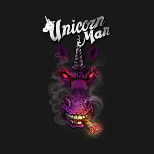 Smokin Unicorn Man