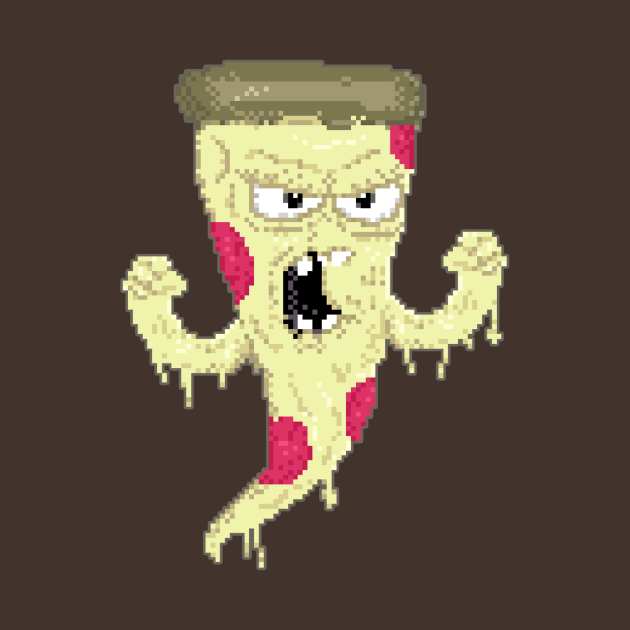 Angry 8bit Pizza