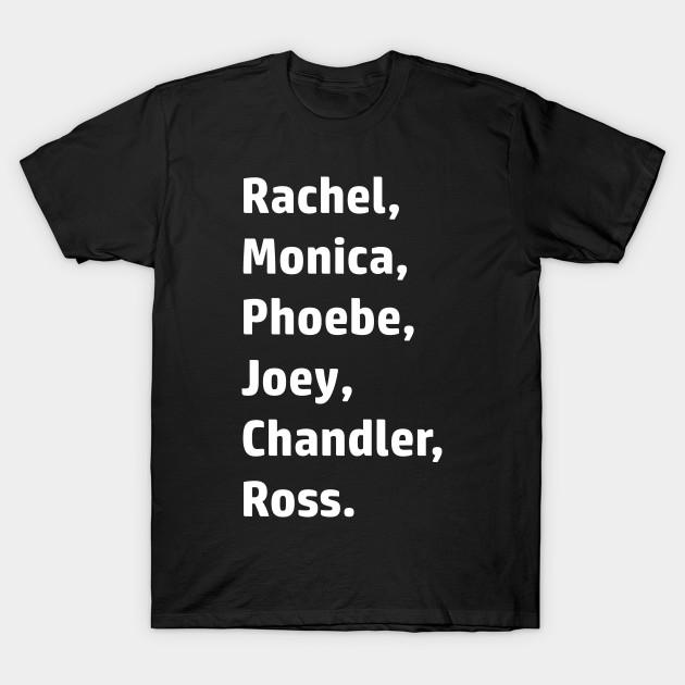 1977d5ab5 Friends Cast - Friends - T-Shirt | TeePublic