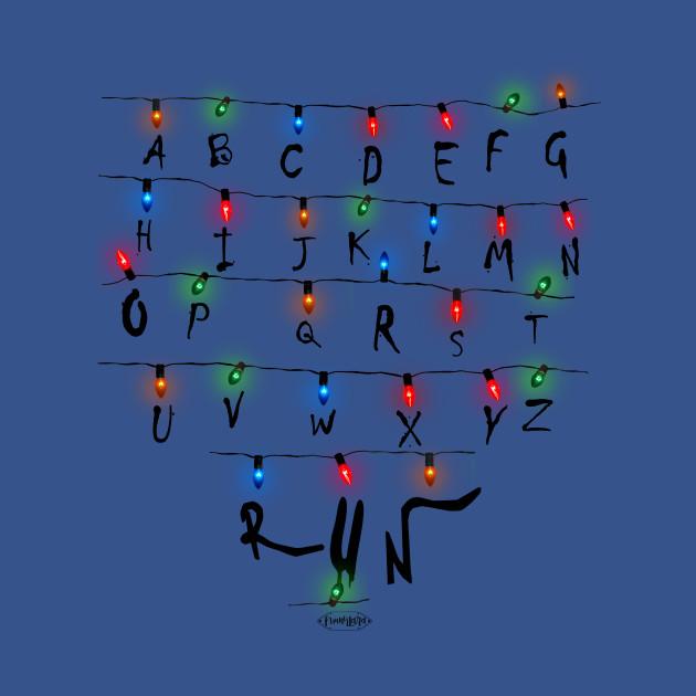 Stranger Things Christmas Lights. RUN!