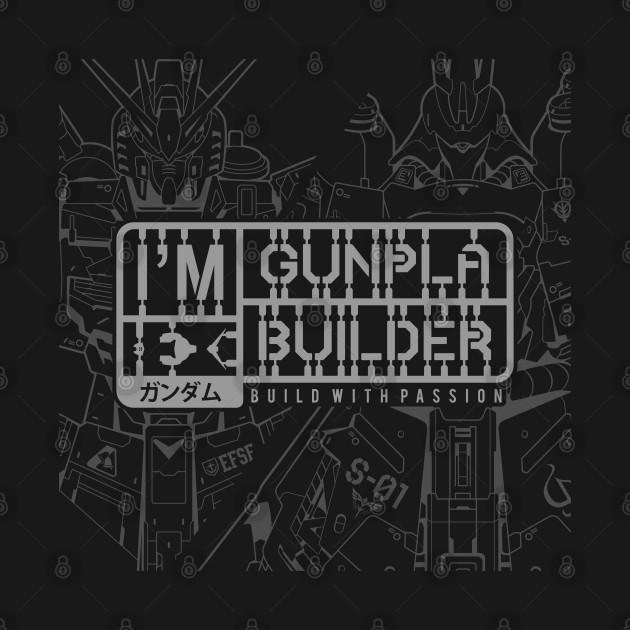 I'M Gunpla Builder Grey