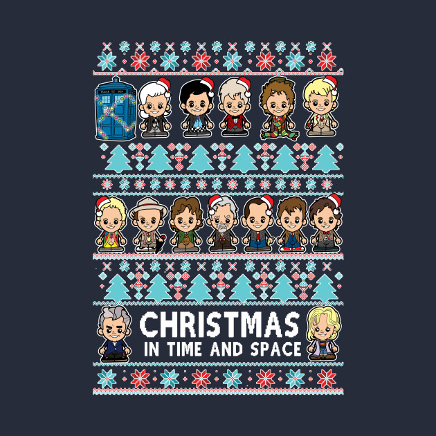 Lil Doctors Christmas Jumper with added 13