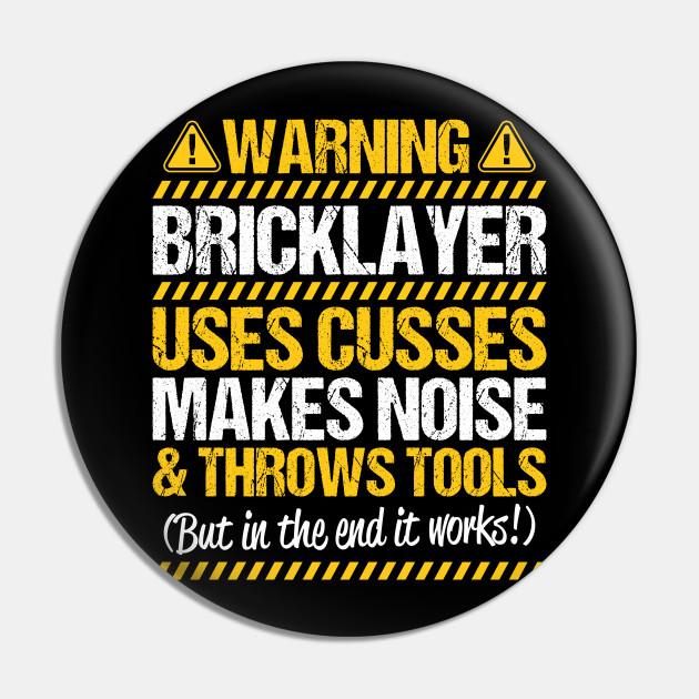 Bricklayer Mason Brickmason Brickie Gift Present