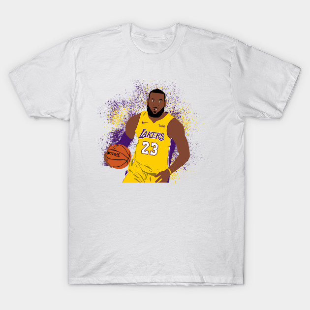 timeless design 5ff80 b4d66 LeBron James Lakers