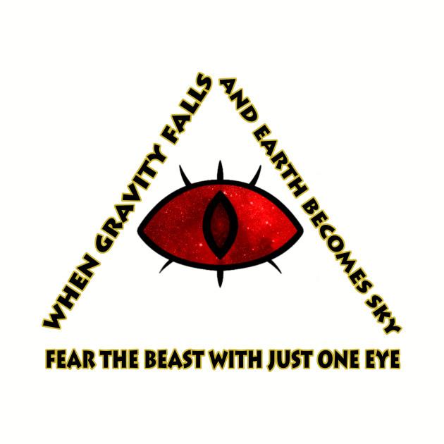 Gravity Falls- bill cipher fear the beast