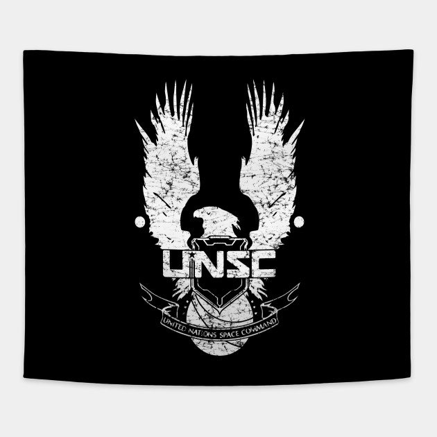 unsc logo halo 4 grunt distressed look unsc logo halo 4