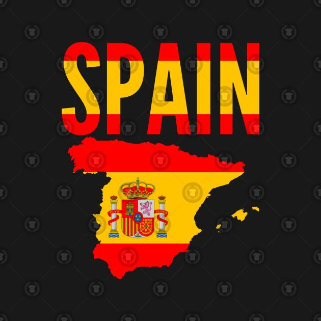Kids Map Of Spain.Spaniard Gift Spain Map