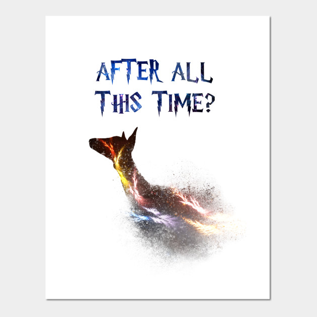 dcee144f6 Back Print. Harry Potter - After all this time  Always - Severus Snape -  Potterhead ...