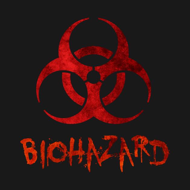 Biohazard Symbol Biohazard T Shirt Teepublic