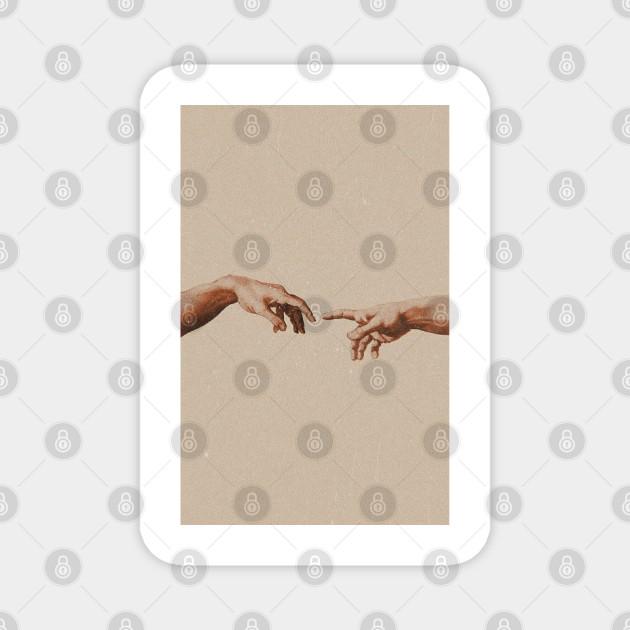 Two Hand Aesthetic Wallpaper Love Magnet Teepublic