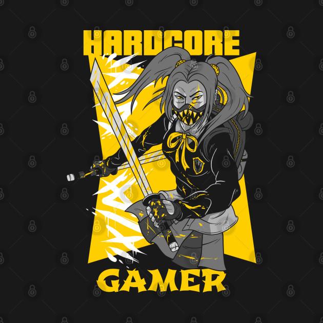 Hardcore Gamer Yellow Ninja