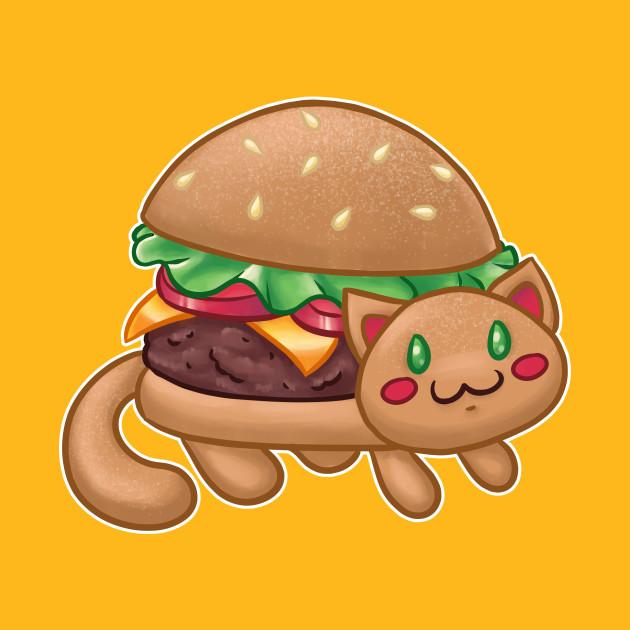 Burger Cat (Catfood Series)