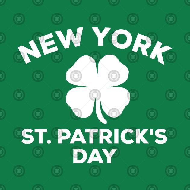 49d38d0c9 ... New York St. Patrick's Day 2019 Shirt Shamrock Clover Family Gift Idea