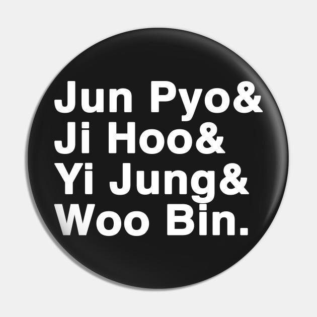 Jun Pyo & Ji Hoo & Yi Jung & Woo Bin