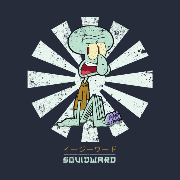 Squidward Retro Japanese