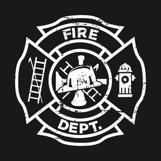 Excellent Firefighter Logo - Firefighter - T-Shirt | TeePublic DB13