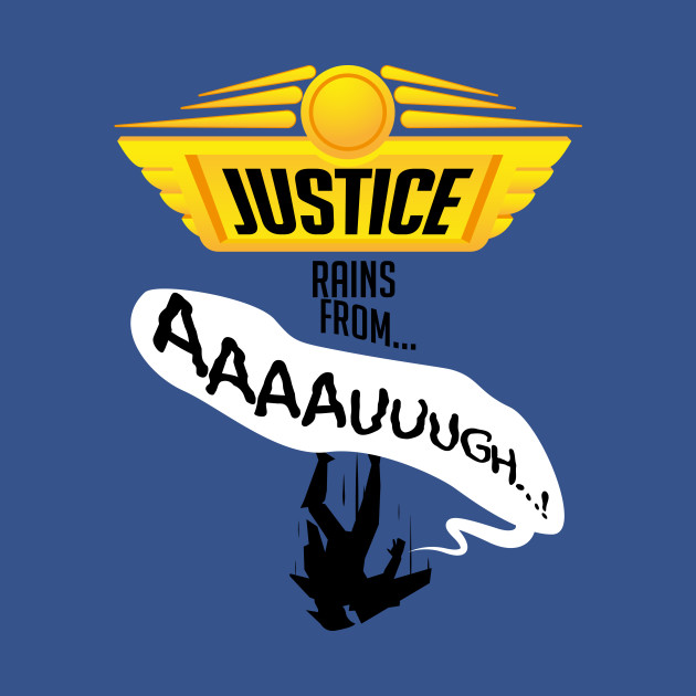 Falling from justice