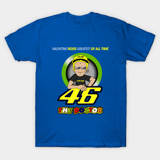 The Greatest Of All Time Valentino Rossi Valentino Rossi T Shirt